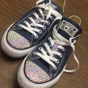 """""""Blinged"""" Converse"""